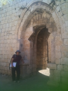 Yours truly and the Ottoman arches