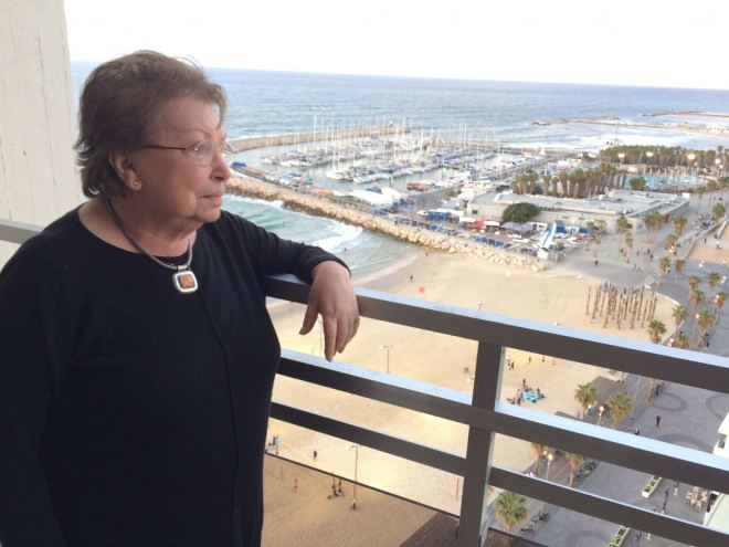 Tel Aviv hotel view